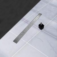 24 32 48 Inch Linear Shower Drain Brushed Stainless Linear Shower Drain Rain