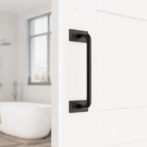9 inch Door Handle Solid Steel Pull Push  For Sliding Barn Door