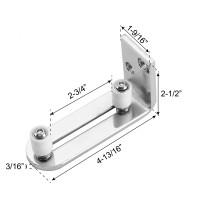 Adjustable Wall Guide floor guide stay Roller For Sliding Barn Door