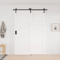 Single Track Bypass Bi-part Barn Door Hardware Kit I Style