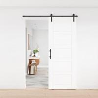 Door Handle Black Steel Pull Cuboid Vertical Flush