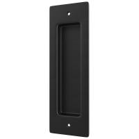 Door Handle Black Steel Pull Imbedded Vertical Flush Door Pulls and Handles
