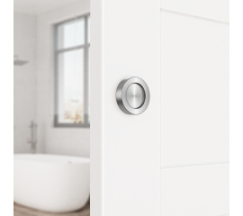 Door Handle Solid Stainless Steel Round Polished Pull For Sliding Barn Door