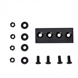 Junction plate Connector Device For Flat Rail