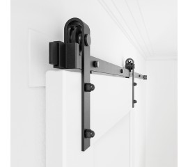 Sliding Barn Door Hardware Kit Single Door  J Shape