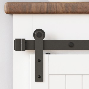 Mini Single Double Sliding Barn Door Hardware Kit I Style