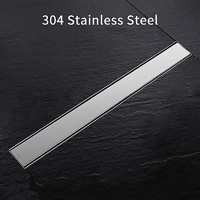 Winsoon 12 24 32 36 40 48 Inch Stainless Steel Linear Shower Drain Floor Drain Bathroom