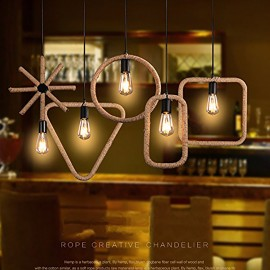WinSoon 1PC Edison Modern Metal Simplify Bar Loft Pendant Lights Lamp Fixtures