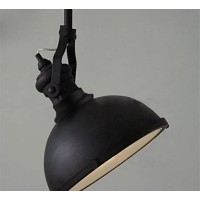 WinSoon 1PC Industrial Chandelier Metal Ceiling Pendant Light Vintage Retro Lamp Black All Products