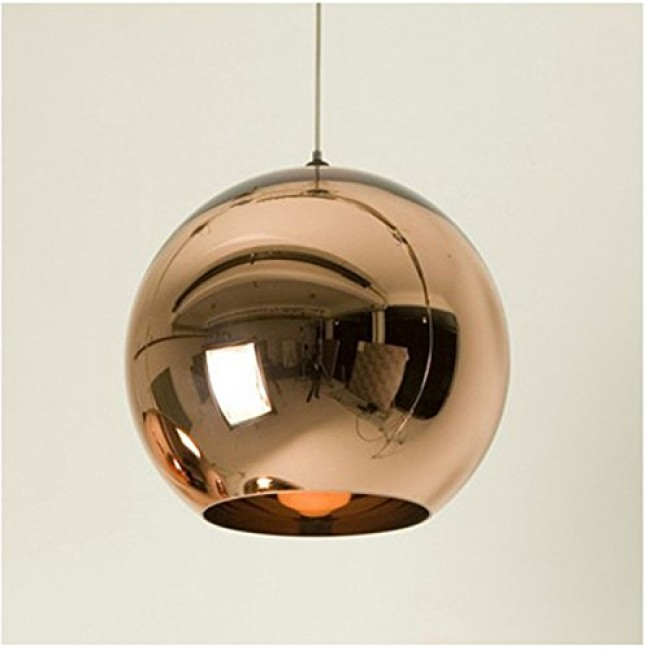 WinSoon 1PC Island Fixture Globe Glass Ceiling Hanging Lamps Fixture ...