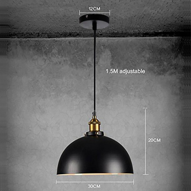 Winsoon 1pc modern design half globe vintage hanging lamps shade winsoon 1pc modern design half globe vintage hanging lamps shade ceiling light all products aloadofball Choice Image