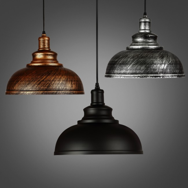 winsoon 1pc modern style metal ceiling lamp wall vintage loft pendant light retro industrial. Black Bedroom Furniture Sets. Home Design Ideas