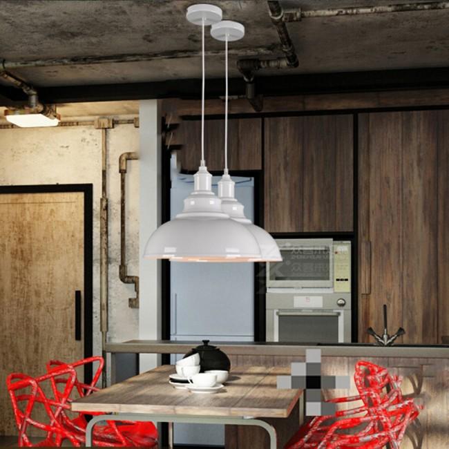Vintage Industrial Loft Style Ceiling Fixtures Retro Lamp: WinSoon 1PC Modern Style Metal Ceiling Lamp Wall Vintage