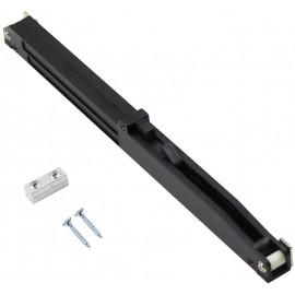 WINSOON 1PC Soft Close Mechanism for Sliding Barn Wood Door Hardware Track Kit