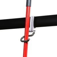 Winsoon 2 Pack Single S Hooks Garage Storage Tools Organization Holders Metal Heavy Duty