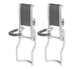 Winsoon 2 Pack Vertical Bike Hooks Garage Storage Tools Organization Holder Heavy Duty