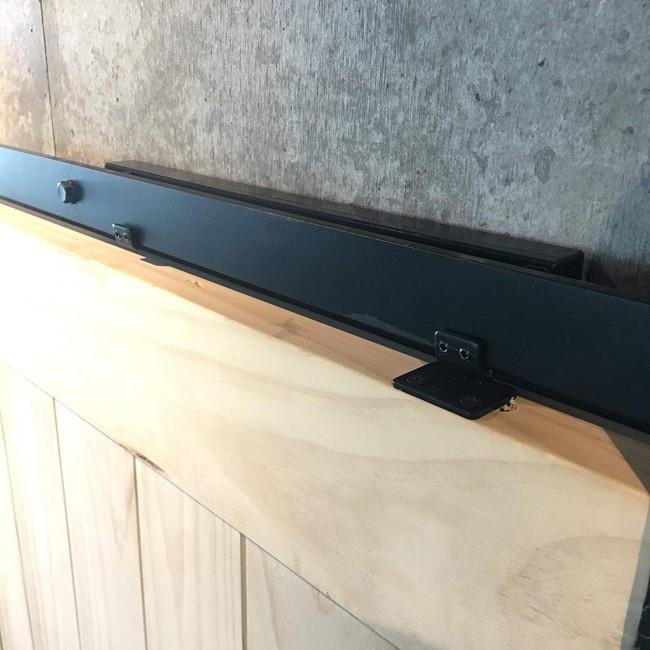 Barn Door Soft Close Mechanism Spring Buffer Damper Adjustable Door Stoppers2SET