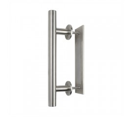 WinSoon 304 Stainless Steel Sliding Barn Door Handle Wood Door Closet Door Pull Vertical