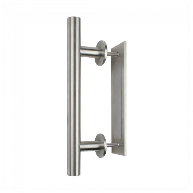 Pull And Flush Stainless Steel 304 Sliding Barn Door Handle Closet Cabinet