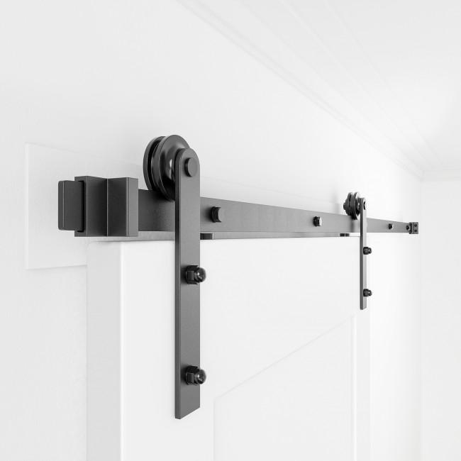 Sliding Barn Door Hardware Kit Single Double Door I Shape