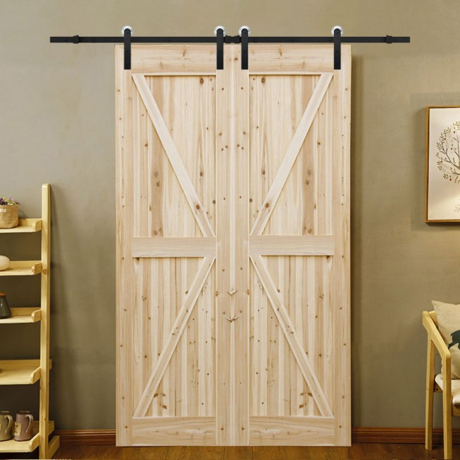 Winsoon 5 16ft Sliding Barn Door Hardware Aluminum Rollers
