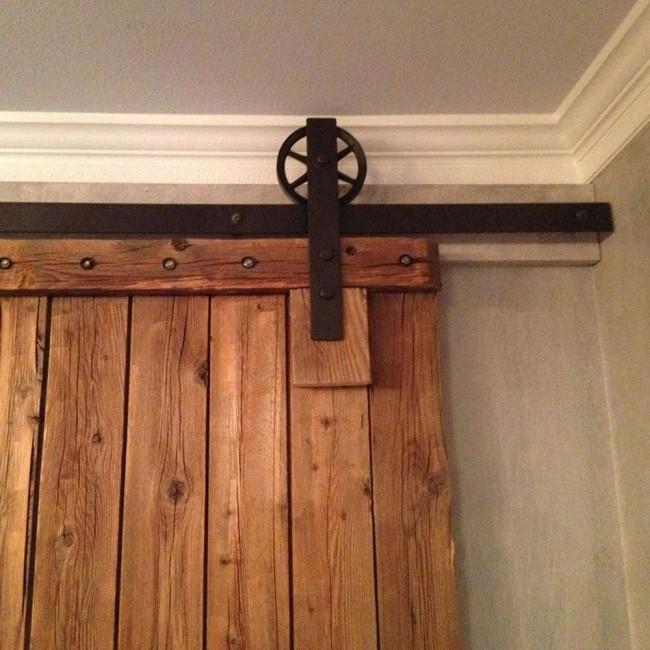 Winsoon 4 18ft Sliding Barn Door Hardware Single Door Track Kit