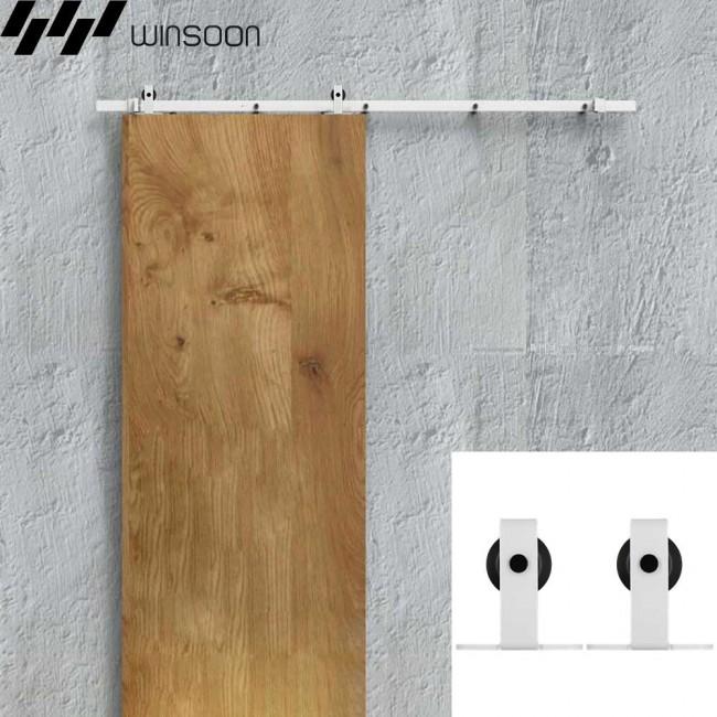 Winsoon 5 16ft Sliding Barn Door Hardware Single Door
