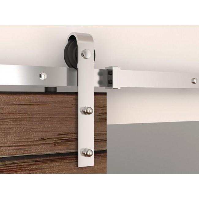 Winsoon 5 16ft Sliding Barn Door Hardware Double Doors