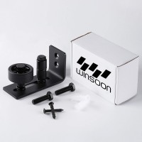 Winsoon Adjustable Floor Guide 8 Setup Options Stay Roller Flush Bottom Design Best Fit for All Barn Doors