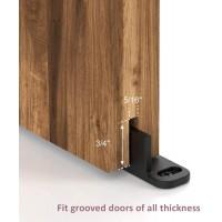 Adjustable Floor Guide for Sliding barn door