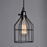 WinSoon Antique Iron Cage Edsion Design Pendant Light Room Lighting  All Products