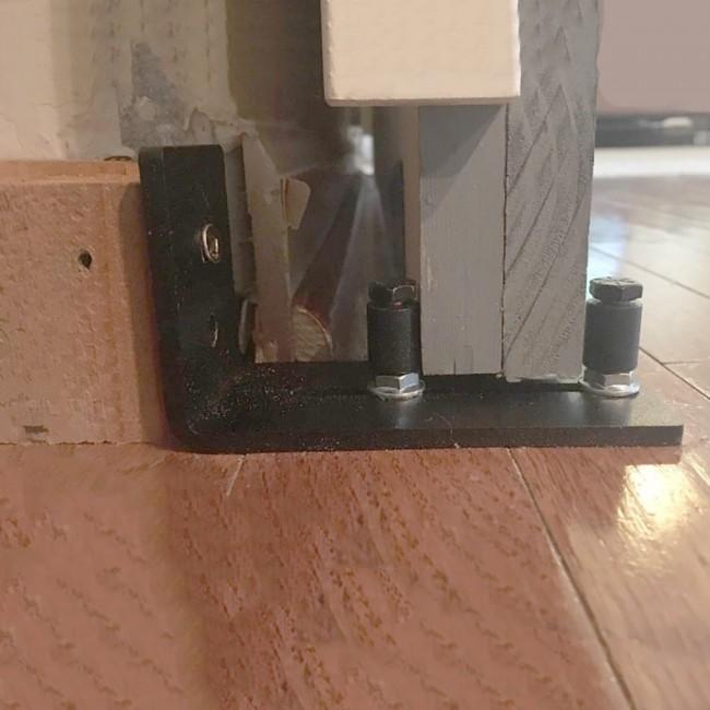 Winsoon Barn Door Hardware Multifunctional Bottom Floor