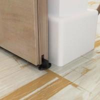 WinSoon Barn Door Hardware Door Bottom Floor Guide Plastic Powder Coated with Screws All Products
