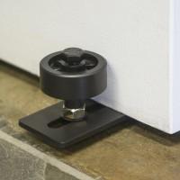 WinSoon Sliding Barn Door Hardware Wall Guide Door Bottom Floor Guide Screws Adjustable