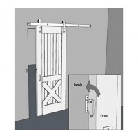 WinSoon Big Size Pull Door Solid Stainless Steel Sliding Barn Door Gate Lock Door Latch All Products