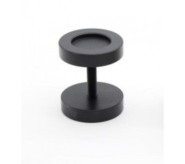 WinSoon Black Round Handle for Sliding Ban Door kitchen Partition Door Pull Hardware Closet