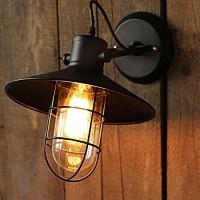 WinSoon Harbor Sconce Industrial 1PC Wall Light Warehouse Edison Vintage Bulb