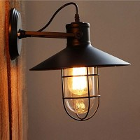 WinSoon Harbor Sconce Industrial 1PC Wall Light Warehouse Edison Vintage Bulb All Products
