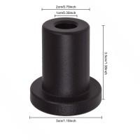 1 3/8 inch  Spacer Hardware Rolling Assemblies Steel