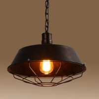 WinSoon Industrial Edison Style Bar Loft Metal Fan Fixture Art Painted Finish(Bronze)