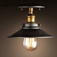 WinSoon Industrial Mini Edison Ceiling Light Style Bar Loft Metal Art Painted Finish 1pc Light