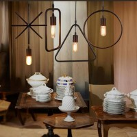 WinSoon Industrial Mini Edison Pendant 1 Light Style Bar Loft Iron Art Painted Finish All Products