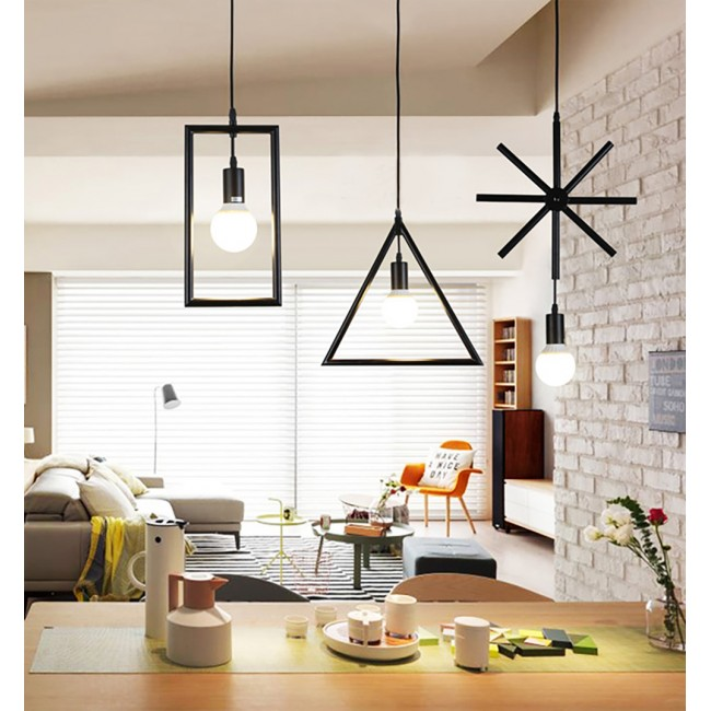 WinSoon Industrial Mini Edison Pendant 1 Light Style Bar Loft Iron Art Painted Finish All Products