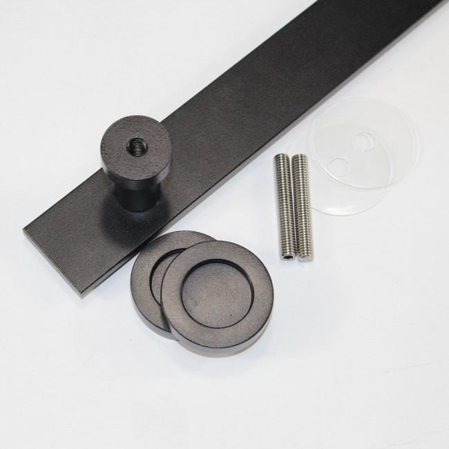 barn door handles brushed nickel decorative hardware amazon black iron metal sliding accessories indoor handle screws