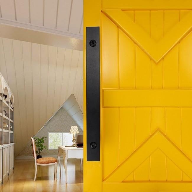 Winsoon Metal Sliding Barn Door Hardware Accessories Indoor Door
