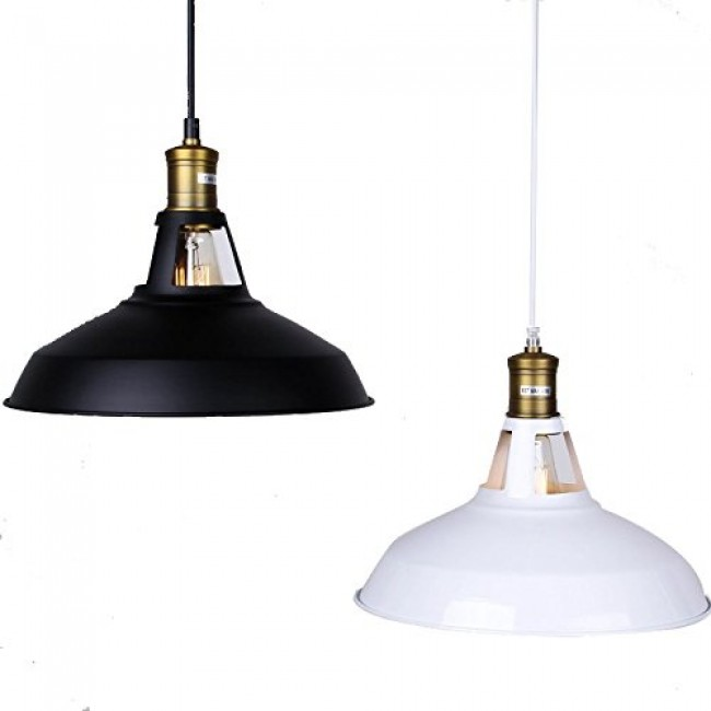 Winsoon modern industrial loft bar ceiling light metal pendant lamp winsoon modern industrial loft bar ceiling light metal pendant lamp shade hanging white all aloadofball