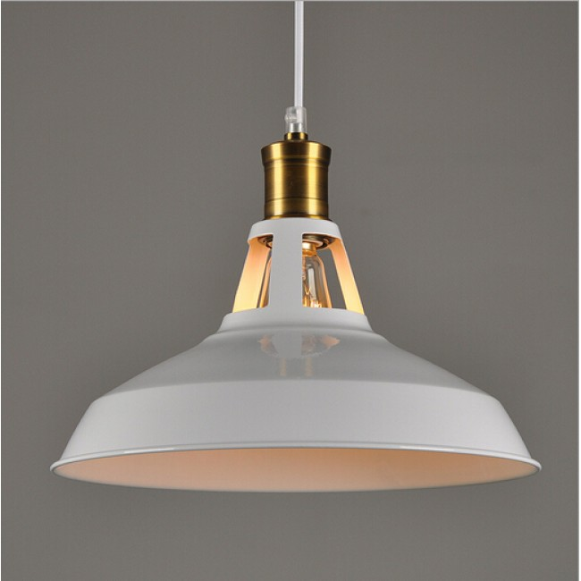 Winsoon modern industrial loft bar metal pendant lamp for Modern hanging pendant lights