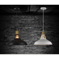 WinSoon Modern Industrial Loft Bar Metal Pendant Lamp Shade Hanging Ceiling Light
