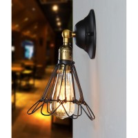WinSoon Modern Loft Industrial Metal Wall Chandelier Light Shade Vintage Retro Lamp