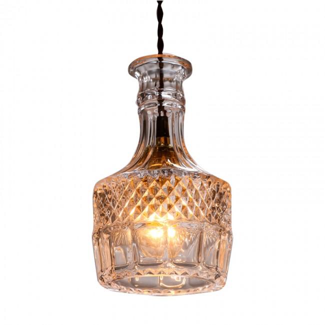 WinSoon modern Pendant Light Socket Glass Pendant Flower Vase Shape Design(C) All Products